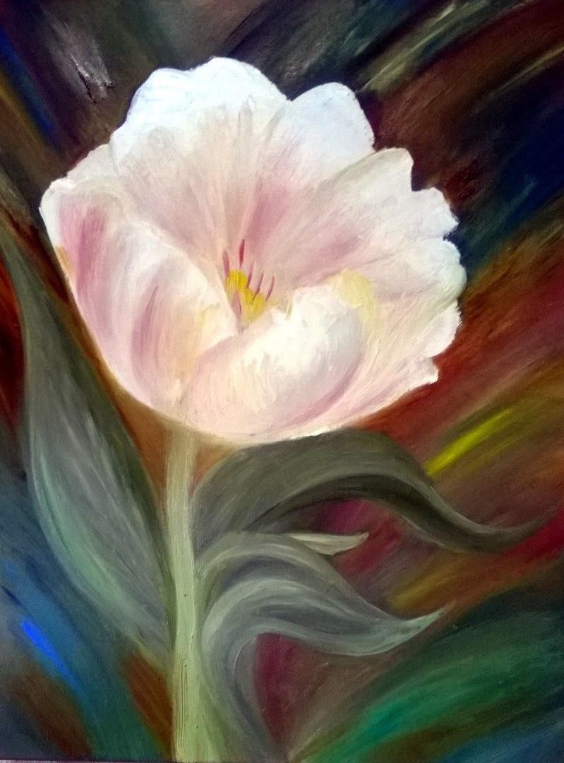 Elena Vladimirovna Verina. The flower of love