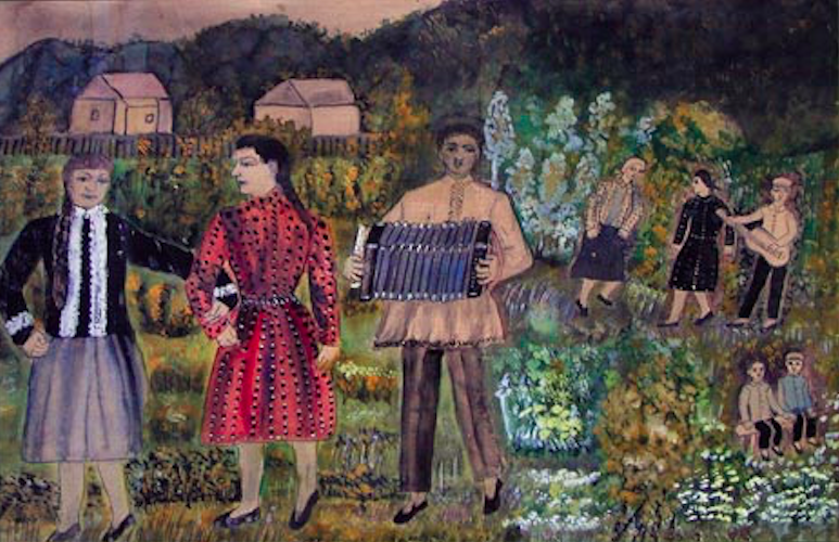Pavel Petrovich Leonov. Holiday in the village