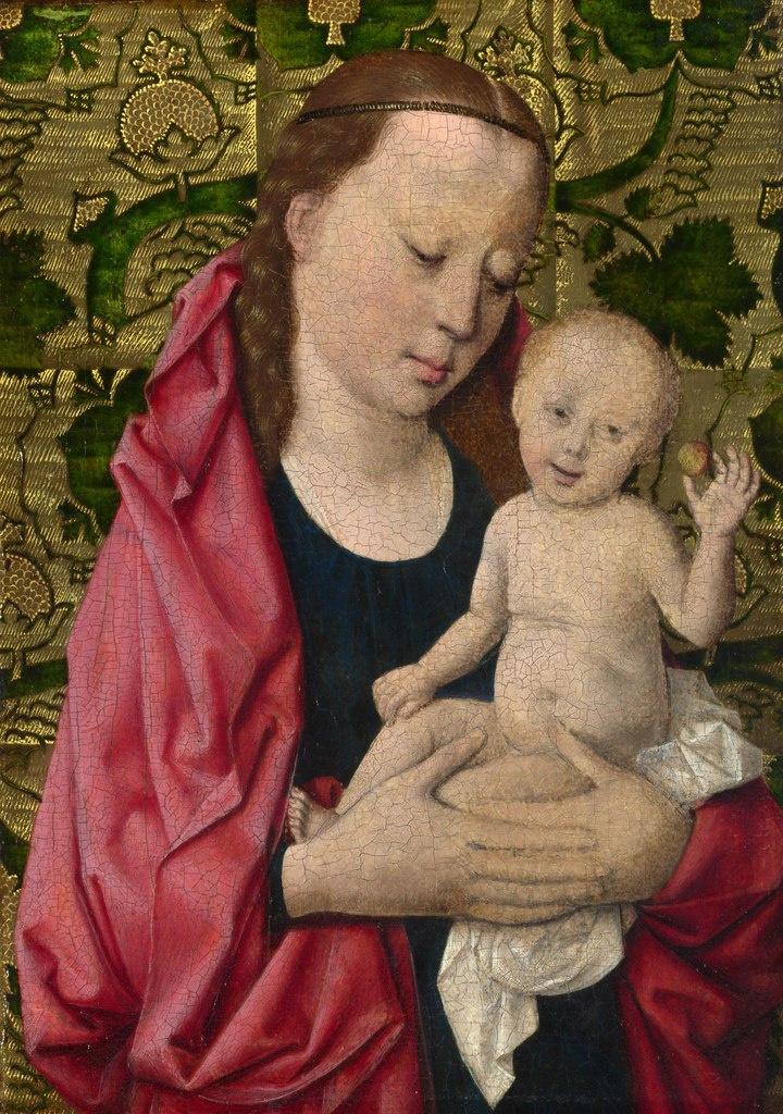 Дирк Баутс. Мастерская Дирка Боутса. Мадонна с младенцем. ок.1465