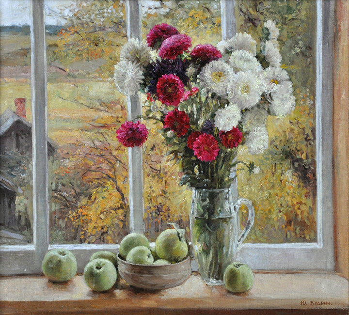 Yuri Viktorovich Kudrin. Autumn outside the window. 1999