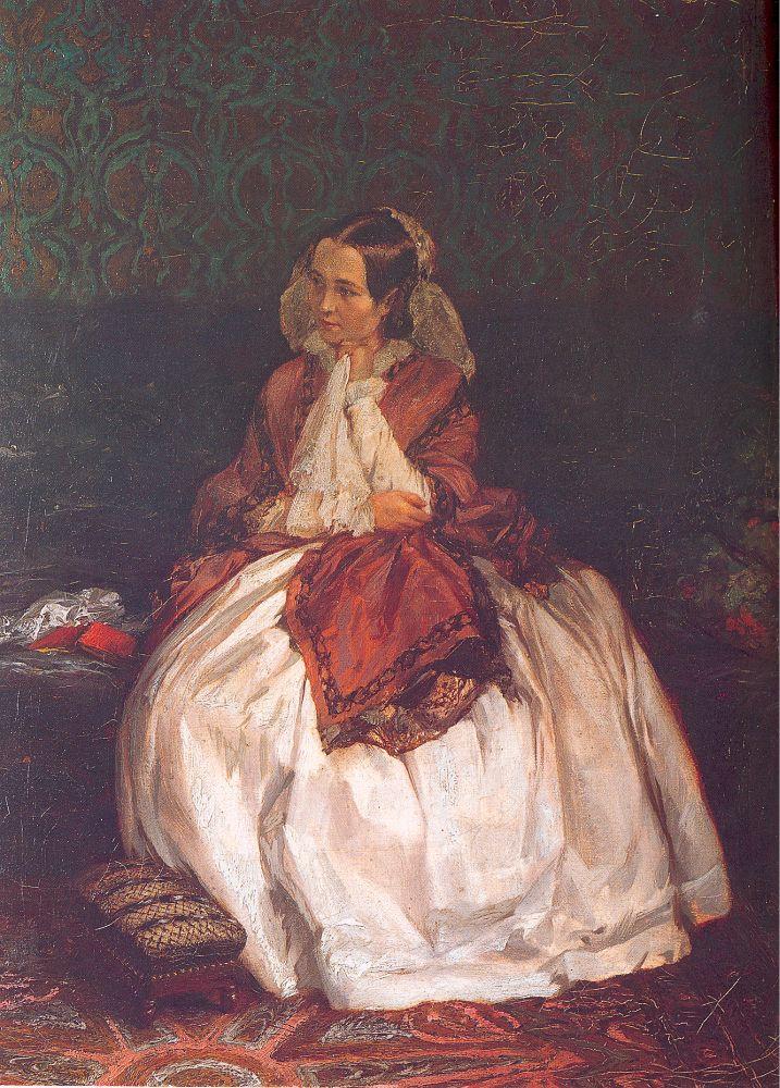 Адольф фон Менцель. Девушка