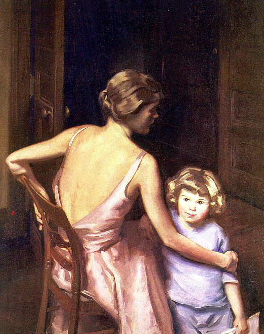 Сидни Дикинсон. Девушка с ребенком