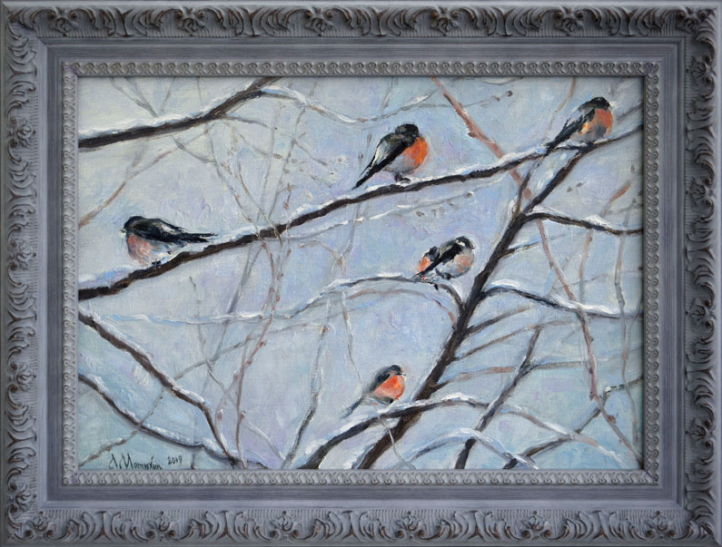 Alexander Matyukhin. Bullfinches