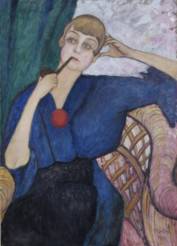 Gabriele Münter. Portrait Of Anne Roslund