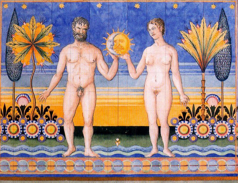Guillermo Pérez Villalta. The moon and the sun