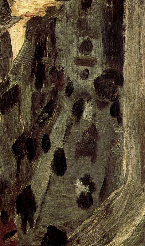Пабло Пикассо. Улица в тени