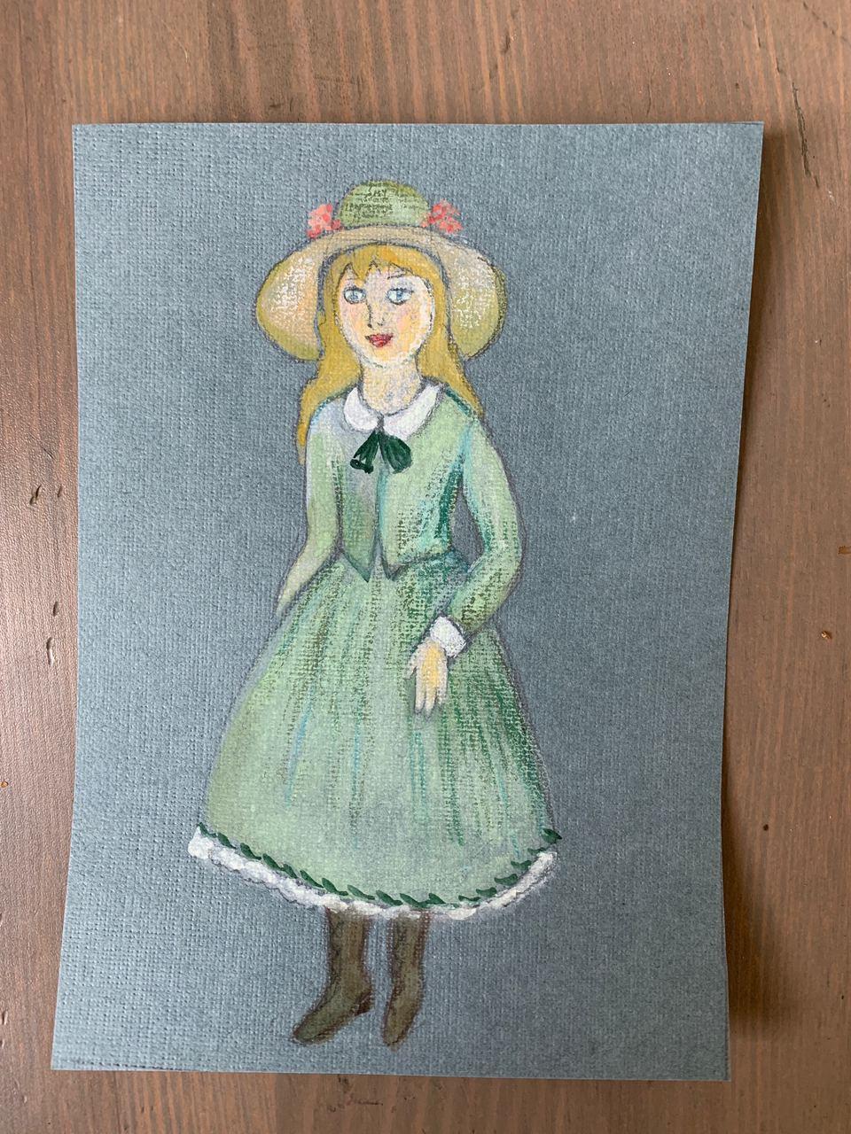 Lemberg Helen. Girl