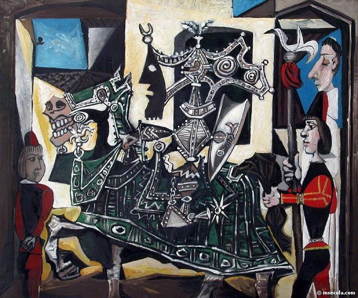 Пабло Пикассо. Рыцарь, паж и монах