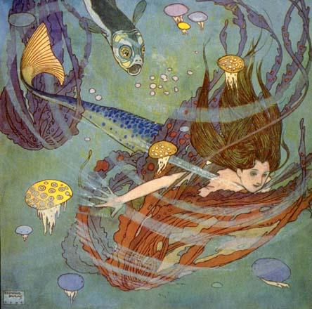 Эдмунд Дюлак. Под водой
