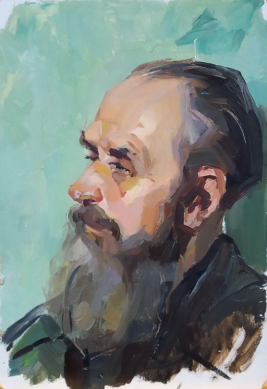 Petr Filippovich Alberti. Portrait of a Man