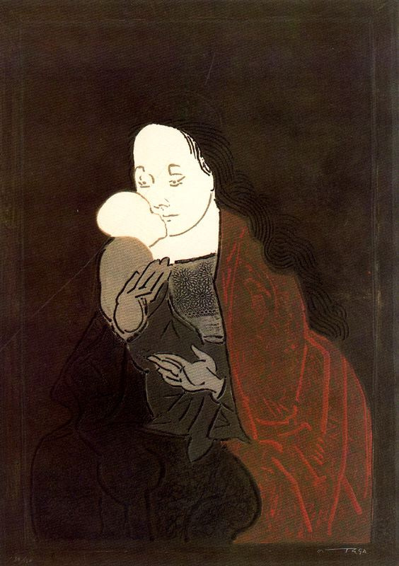 Хосе Ортега. Мать с ребенком