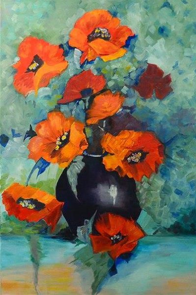 Andreeva. Poppies