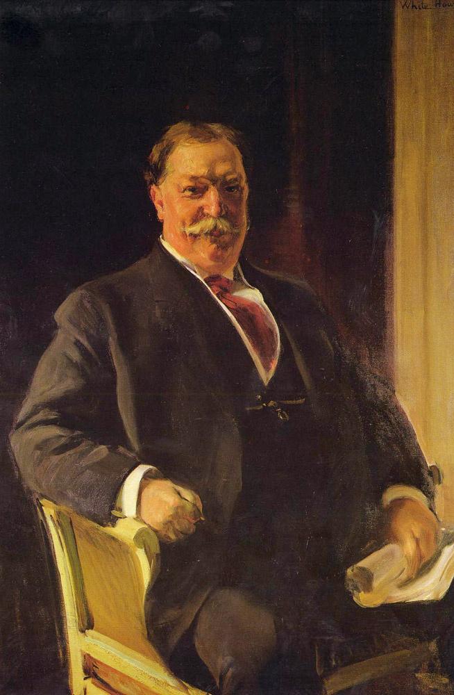 Хоакин Соролья (Соройя). Портрет мистера Тафта, президента США