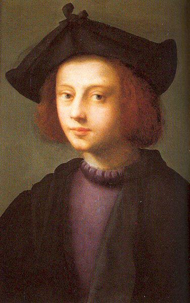 Доменико Пулиго. Портрет