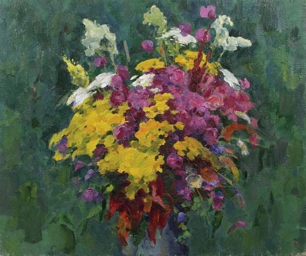 Victor Pavlovich Kabanov. Flowers