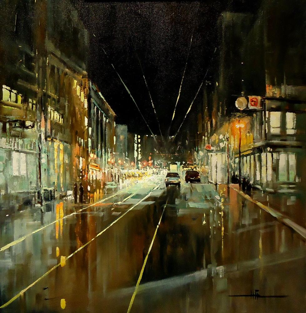 Natalia Grigorieva. Night city
