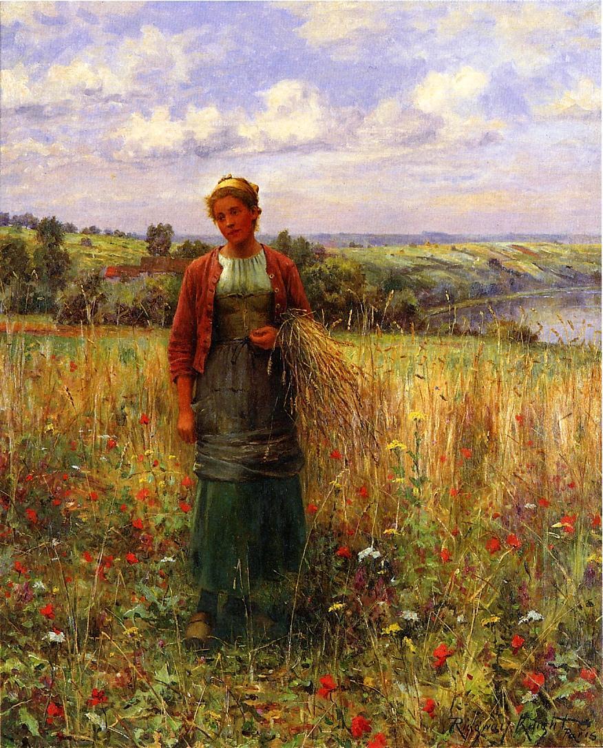 Daniel Ridgeway Knight. In the field