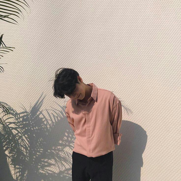 Rajet Joen. Portrait of polite pink shirt guy