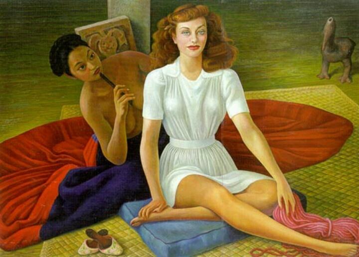 Diego Maria Rivera. Portrait of Flying Goddard
