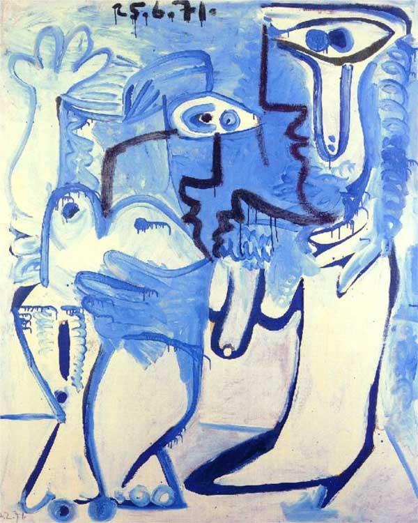 Пабло Пикассо. Пара