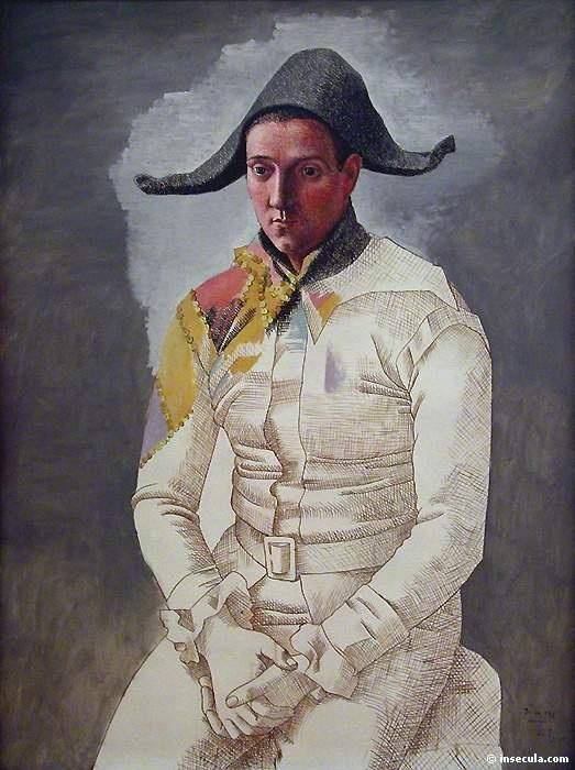 Пабло Пикассо. Арлекин