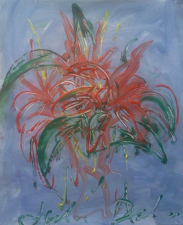 Юлия Долгорукова. Красные цвеы