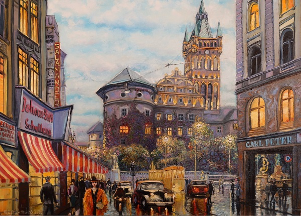 Evgeny Vladimirovich Terentyev. The lights of the old city