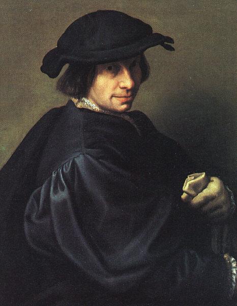 Джулио Кампи. Мужской портрет