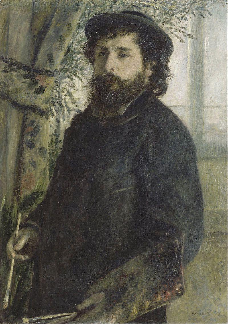 Pierre-Auguste Renoir. Portrait Of Claude Monet