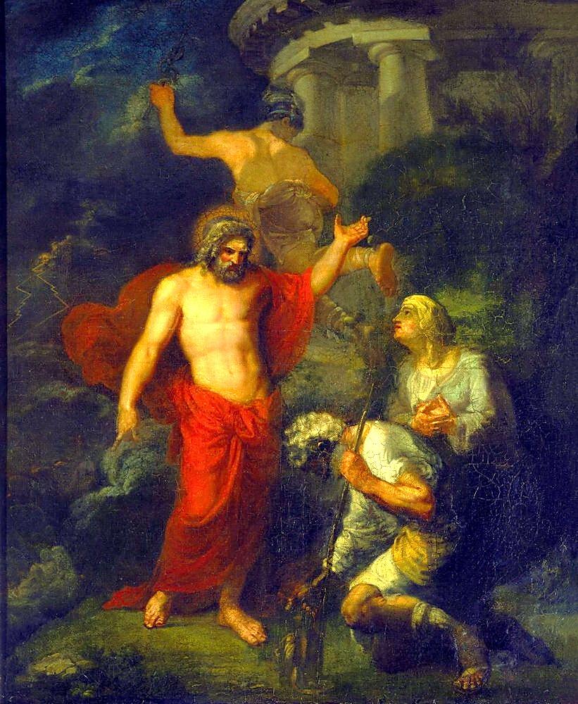 Орест Адамович Кипренский. Юпитер и Меркурий