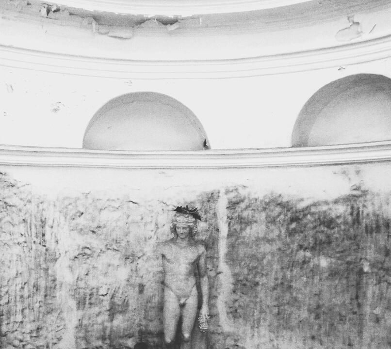 Полина Алексеевна Александрова. Sculpture in the master's bath