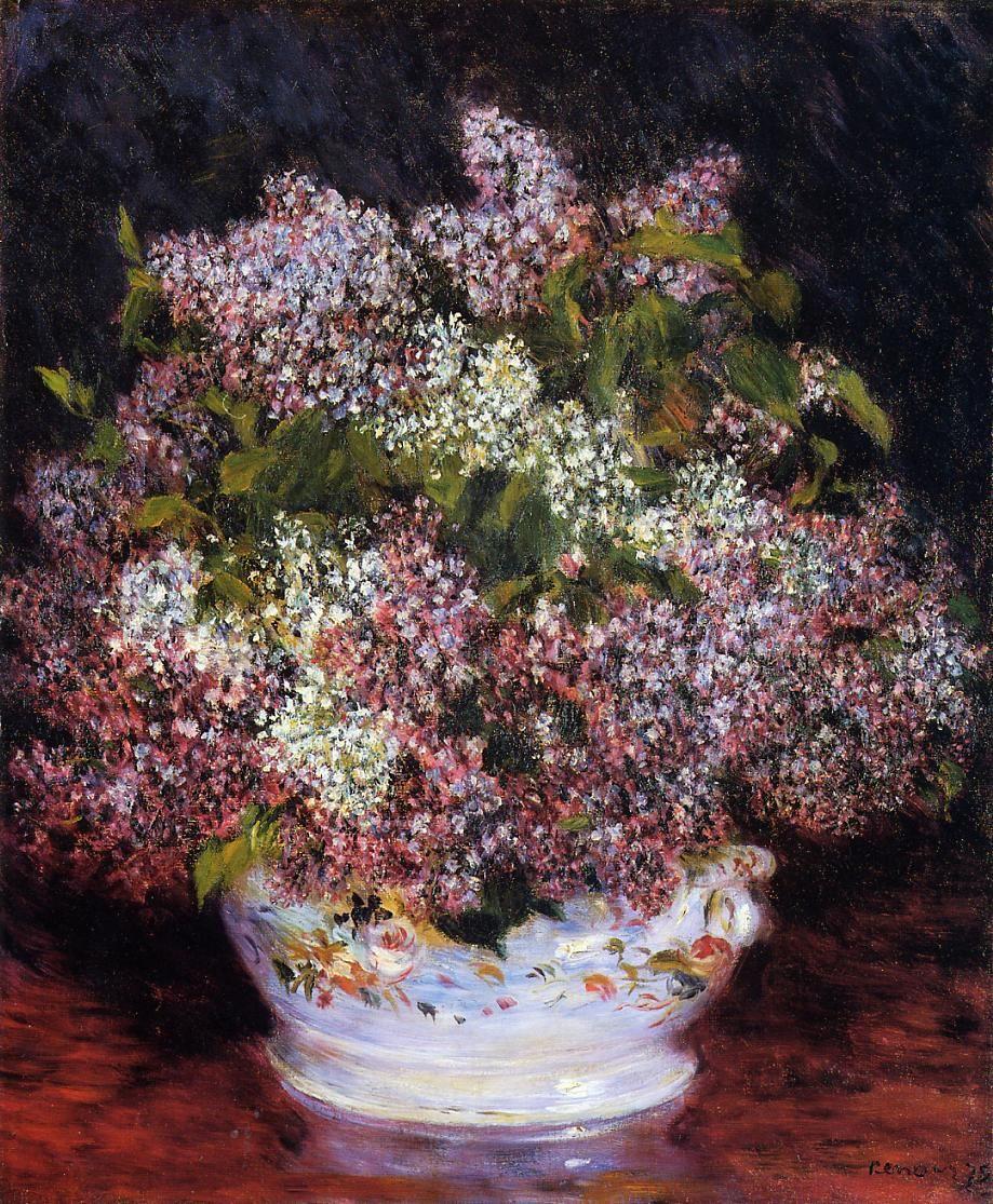 Pierre-Auguste Renoir. A bouquet of flowers
