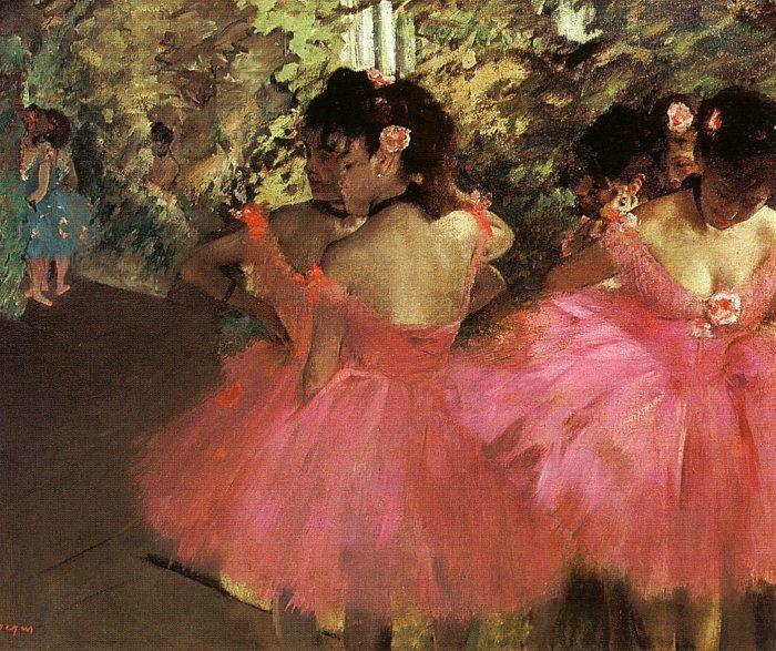 Эдгар Дега. Танцовщицы в розовом