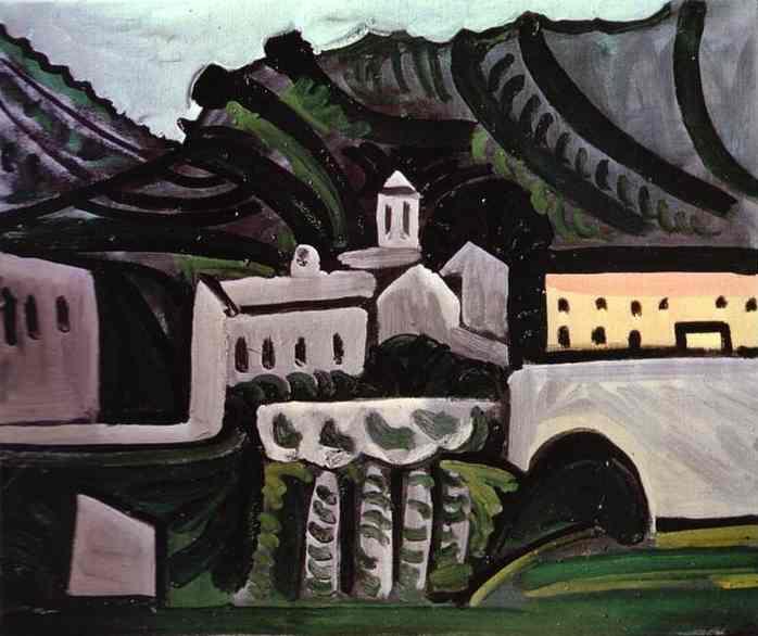 Пабло Пикассо. Вовенарг в дождь