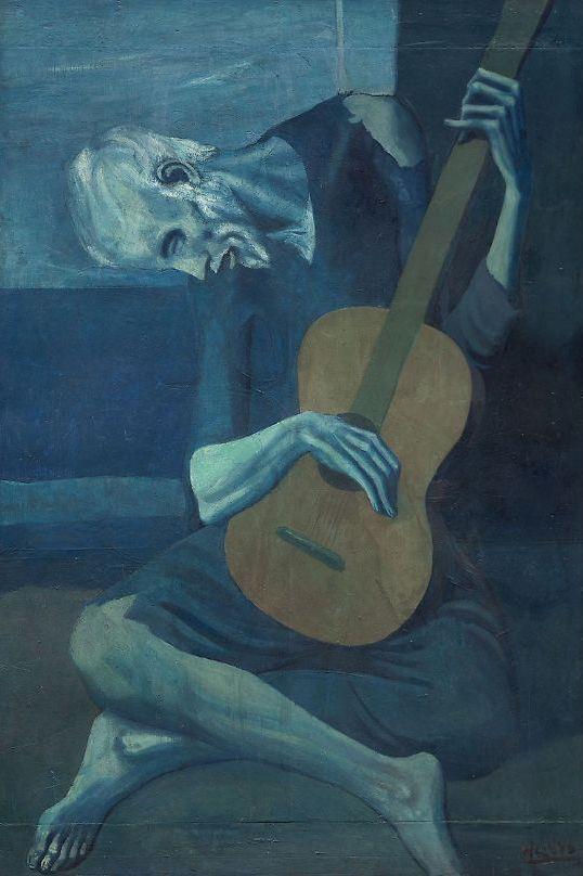 Пабло Пикассо. Старый гитарист