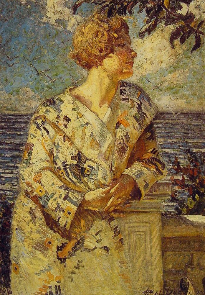 Уильям Делефтвич Додг. Женщина на берегу моря