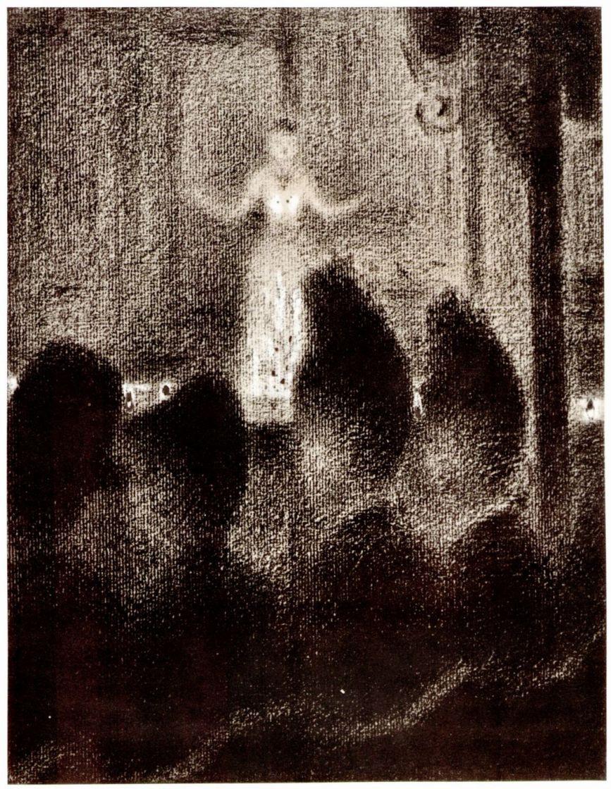 "Georges Seurat. In the ""European concert"""