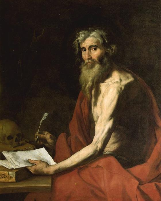 Хосе де Рибера. Св. Иероним