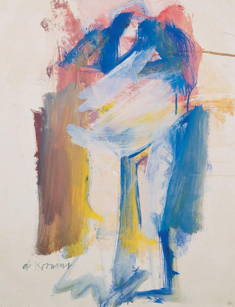Willem de Kuning. Spring woman II