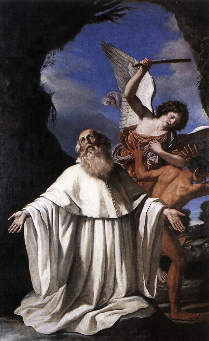 Giovanni Francesco Guercino. Saint Romuald