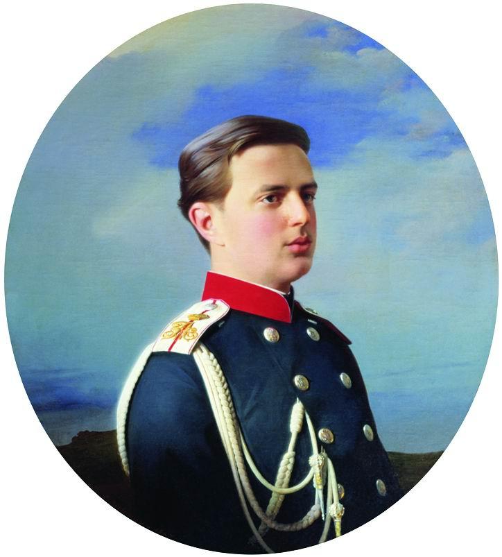 Сергей Константинович Зарянко. Портрет великого князя Владимира Александровича (1847-1909). 1867