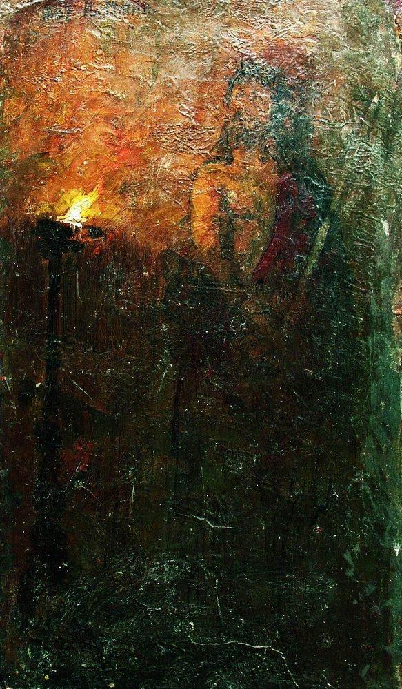 Ilya Efimovich Repin. Behold the man