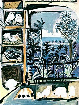Пабло Пикассо. Дерево