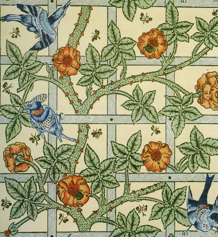 William Morris. Grate of the Garden