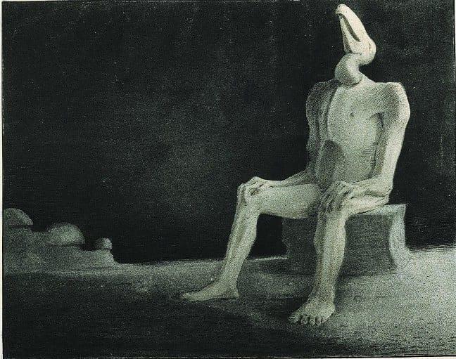 Alfred Cubin. Past