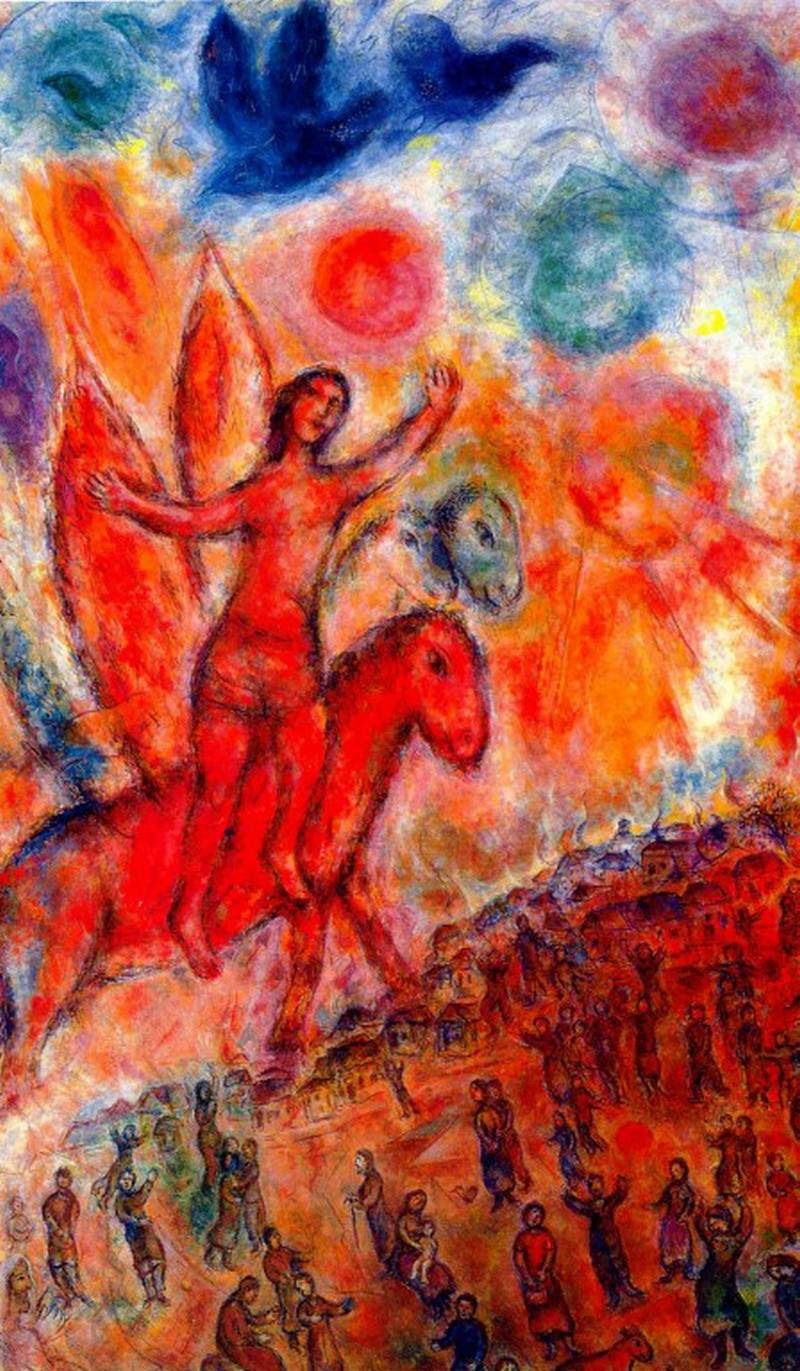 an analysis of marc chagalls famous paintings
