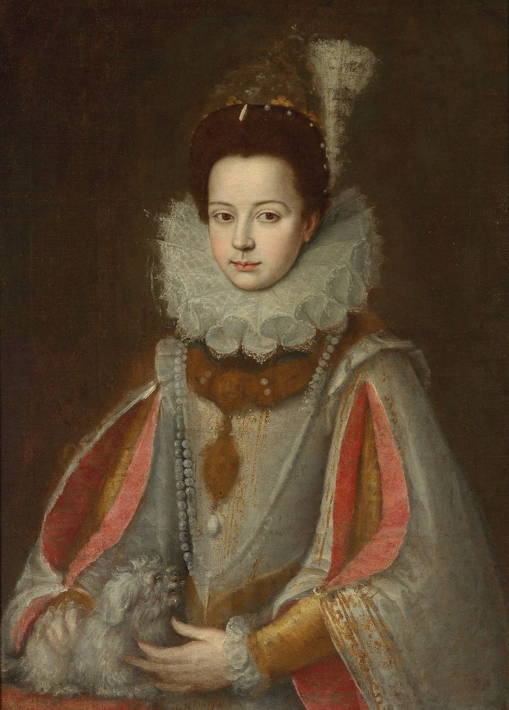 Sofonisba Angisola. Portrait of Isabella di Savoie