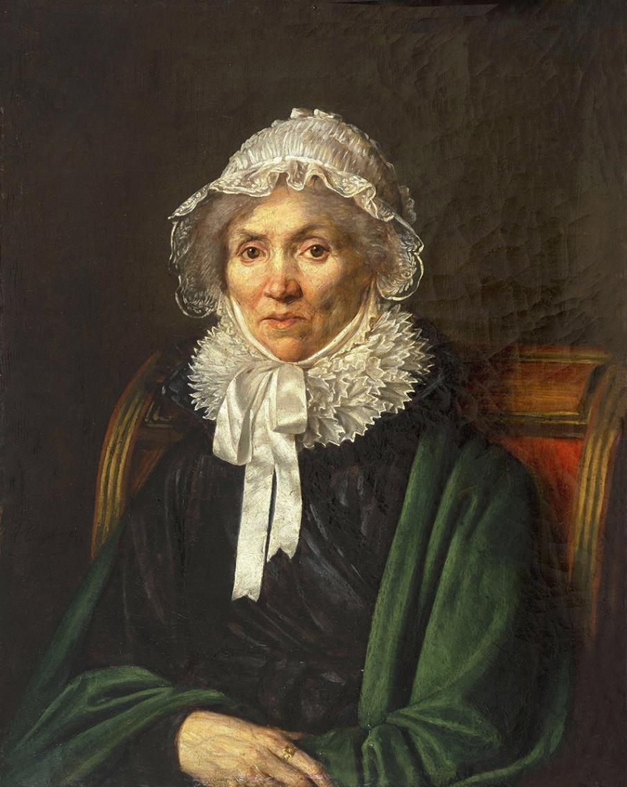 Alexander Grigorievich Varnek. Old woman. Far Eastern Art Museum, Khabarovsk
