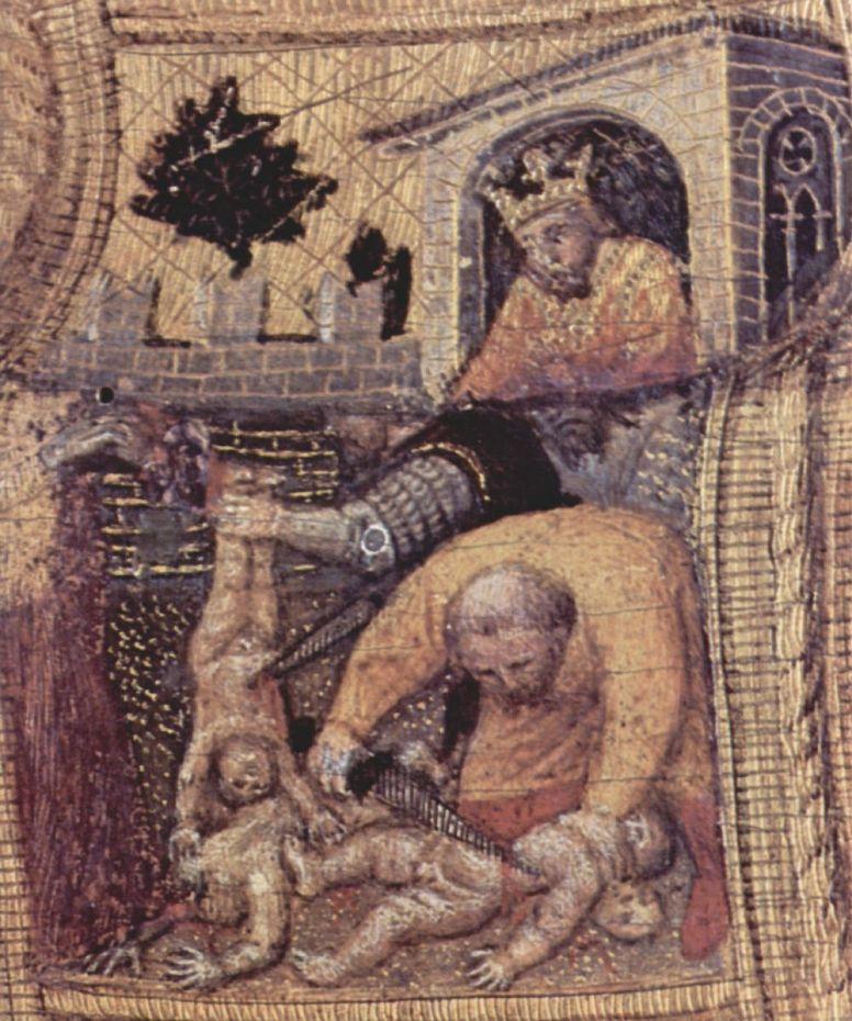 Джентиле да Фабриано. Избиение младенцев