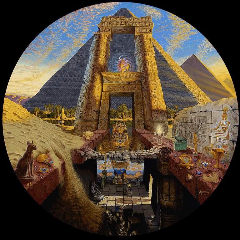 Эндрю Анненберг. Египетская загадка